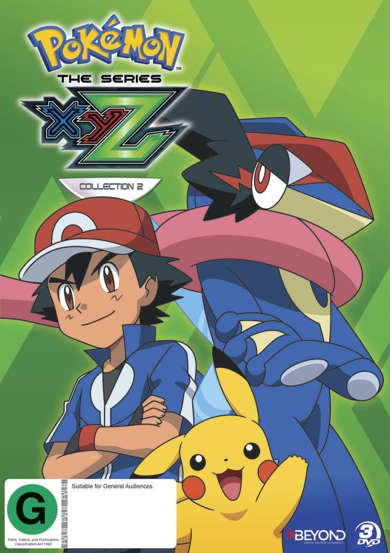 Pokemon The Series: XYZ - Collection 2 on DVD