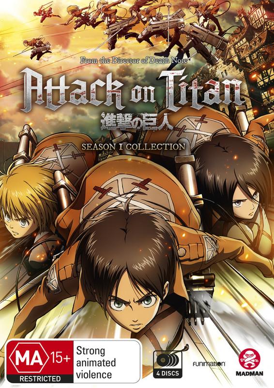 Attack On Titan - Season 1 Collection on DVD