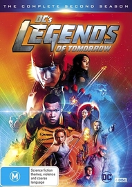 DC'S Legends of Tomorrow - Season 2 on DVD image