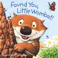 Found You, Little Wombat! Board Book by Angela McAllister image