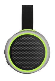 Braven: 105 Portable Wireless Speaker - Silver/Green