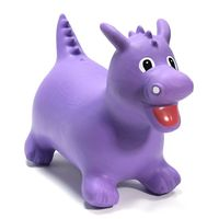 Happy Hopperz : Purple Triceratops