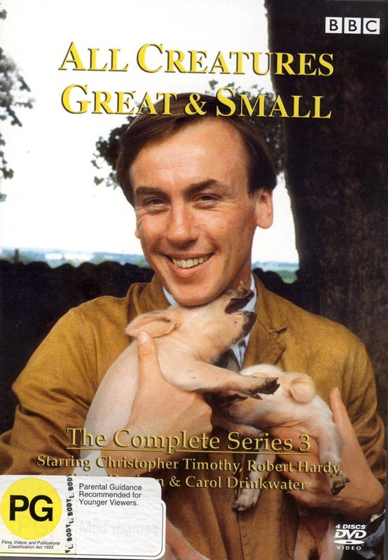 All Creatures Great & Small - Series 3 (4 Disc Box Set) on DVD