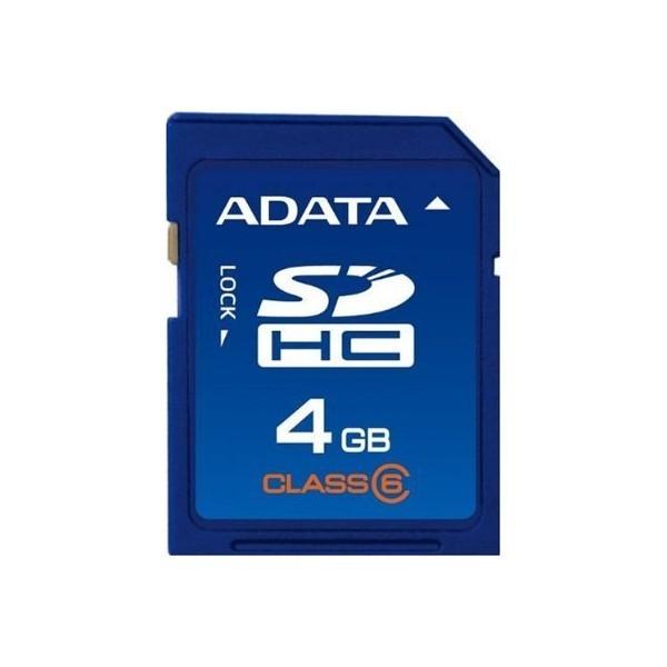 Adata 4GB SDHC Class 6