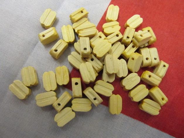 Billing Boats Single Wooden Block 7mm (50x)