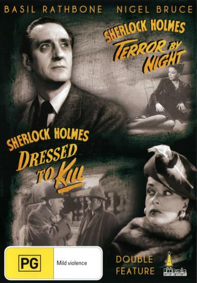 Sherlock Holmes in Terror by Night/Sherlock Holmes in Dressed to Kill (DVD)