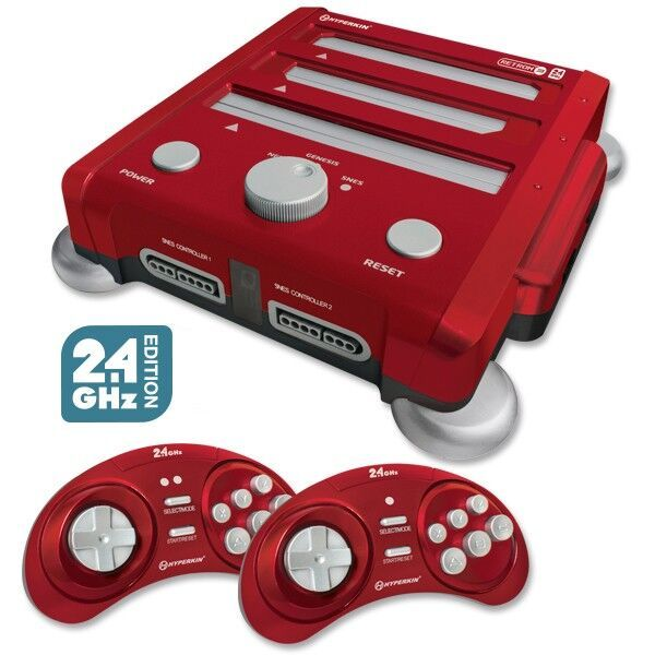 Hyperkin Retron 3 Gaming Console - Laster Red for  image