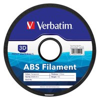 Verbatim 3D Printer ABS 1.75mm Filament - 1kg Reel (Transparent)