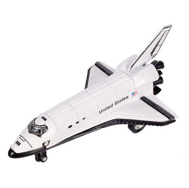 Toysmith - Pull Back Space Shuttle
