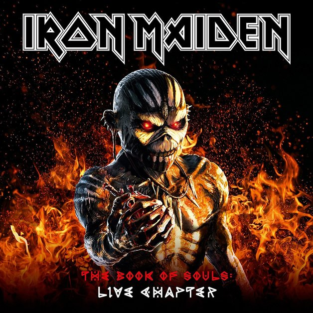 The Book Of Souls: Live Chapter (3LP) by Iron Maiden