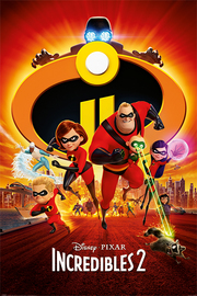 Incredibles 2 One Sheet Maxi Poster (813)