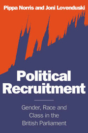 Political Recruitment by Pippa Norris