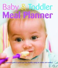 Baby and Toddler Meal Planner image
