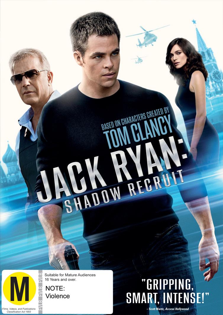 Jack Ryan: Shadow Recruit on DVD image