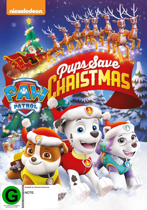 Pup Patrol - Pups Save Christmas on DVD image