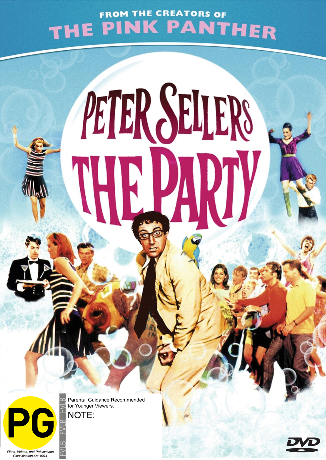 The Party - Special Edition on DVD image