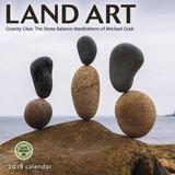 Land Art: Gravity Glue 2018 Wall Calendar by Michael Grab