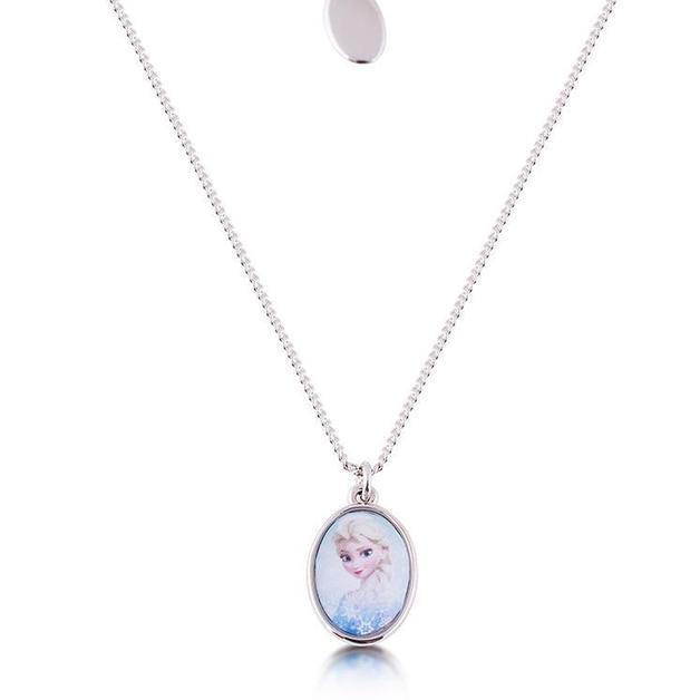 Couture Kingdom: Disney - Elsa Necklace (White Gold)