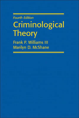 Criminological Theory by Franklin P Williams image