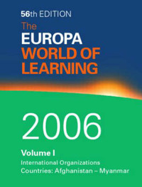 Europa World of Learning