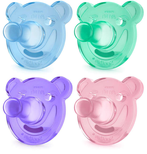 Philips Avent Soothie Shapes pacifier- 0-3m, 2-pack