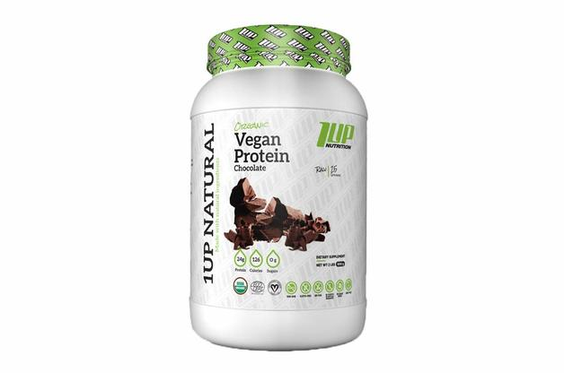 1Up Nutrition: Natural Vegan Protein - Chocolate (998g)
