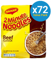 Maggi 2-Minute Noodles - Beef (72 Pack)