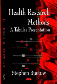 Health Research Methods by Stephen Buetow image