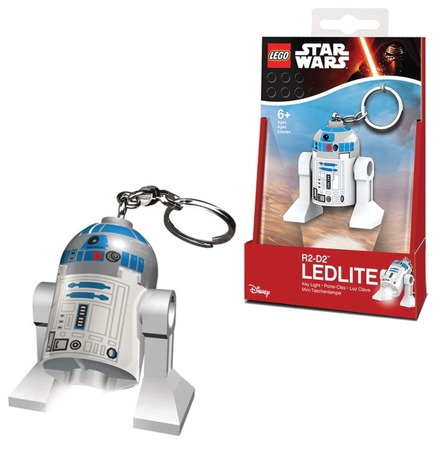 LEGO Star Wars Keyring LED Light - R2D2