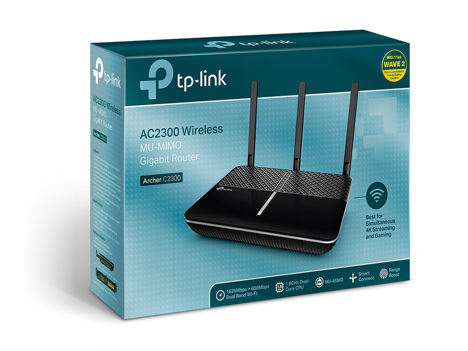 TP-Link Archer C2300 Wireless MU-MIMO Gigabit Router image