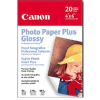Canon PHOTO PAPER PLUS GLOSSY A4 PP101 (20 SHEETS) image