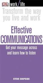 Effective Communications by Steve Shipside image