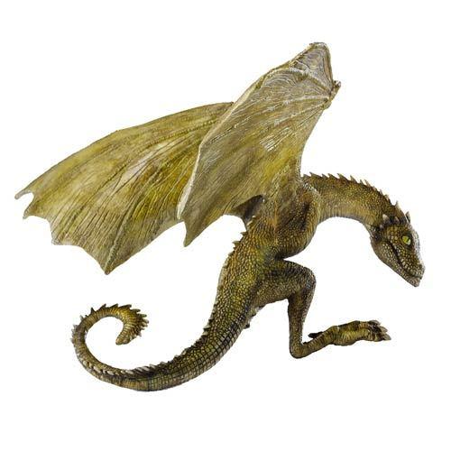 "Game of Thrones: Baby Dragon Rhaegal - 4.5"" Resin Statue image"