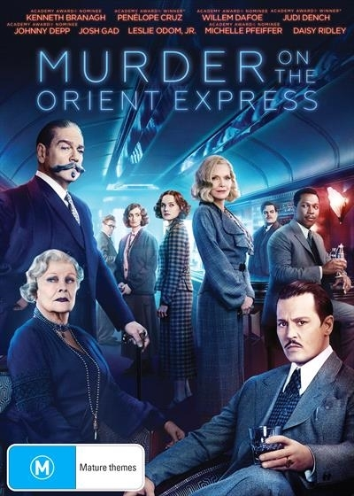 Murder On The Orient Express on DVD image