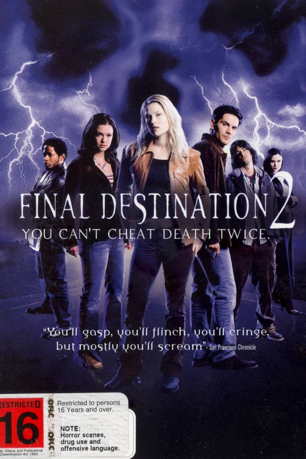 Final Destination 2 on DVD image