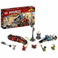 LEGO Ninjago - Kai's Blade Cycle & Zane's Snowmobile (70667)