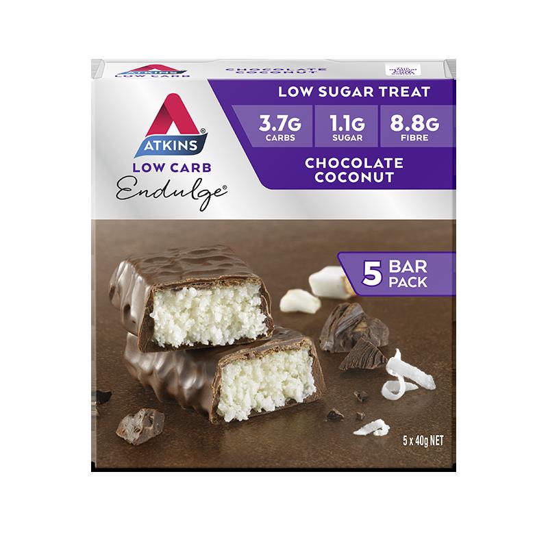 Atkins Endulge Bars - Chocolate Coconut (5 x 40g) image