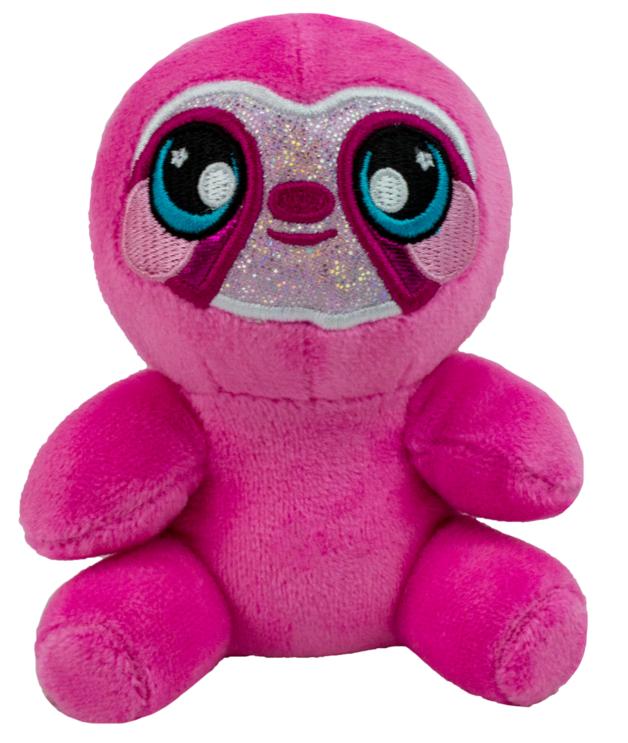 Squeezamals: S3 - Super Squishy Plush (Pink Sloth)