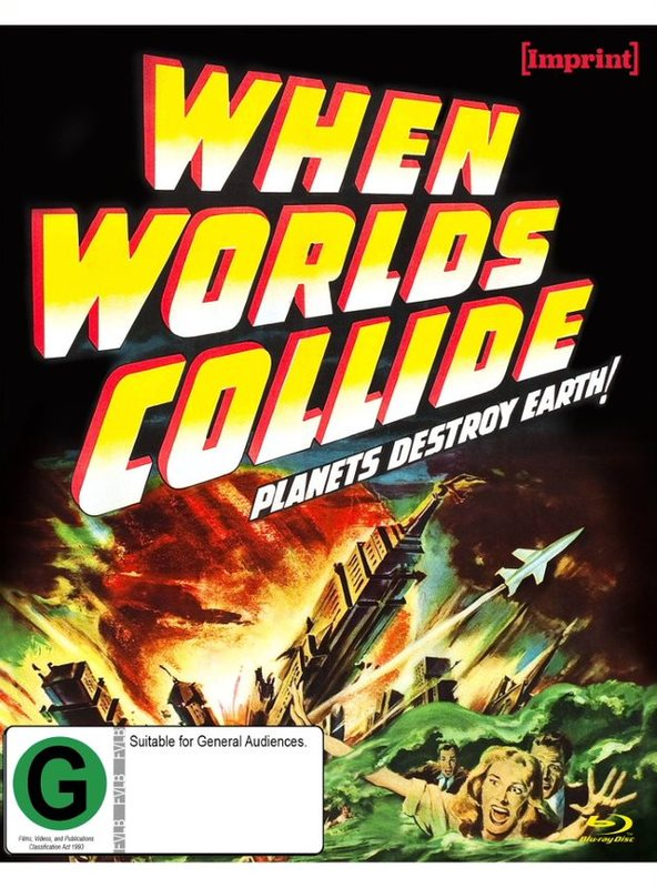 When Worlds Collide (Imprint Collection # 6) on Blu-ray
