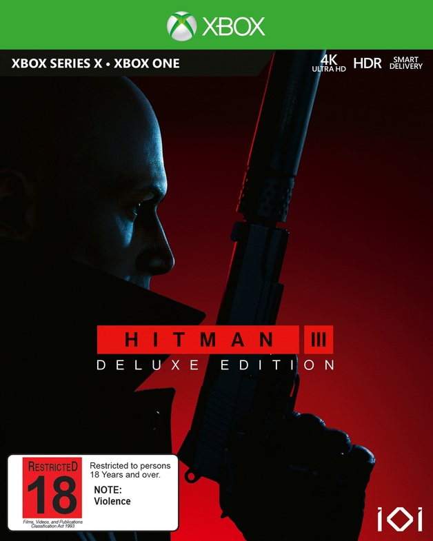 Hitman 3 Deluxe Edition | Xbox One | Pre-Order Now | at Mighty Ape NZ