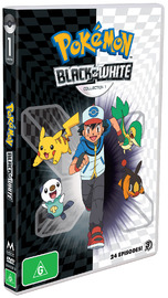 Pokemon - Season 14: Black & White - Part 1 on DVD image
