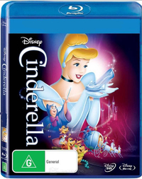 Cinderella (1950) on Blu-ray