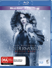 Underworld: Blood Wars on Blu-ray