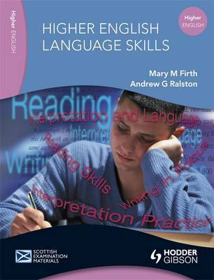 English Language Skills for Higher English by Mary M. Firth image