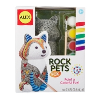 Alex: Craft - Rock Pets Fox