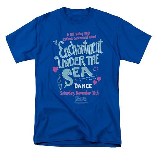 Back to the Future: Enchantment Under The Sea - Men's T-Shirt (Small)