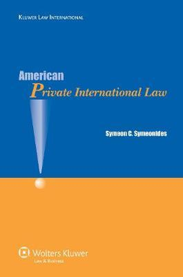American Private International Law by Symeon Symeonides image