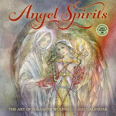 Angel Spirits 2020 Wall Calendar by Wulfing Sulamith