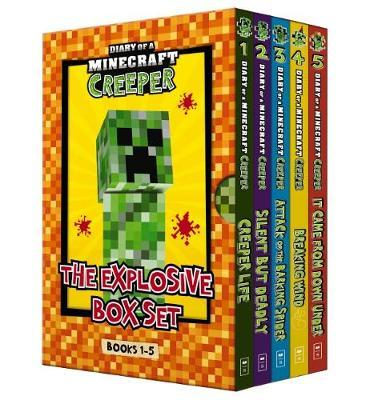 Diary of a Minecraft Creeper: The Explosive Box Set (Books 1-5) by Pixel Kid
