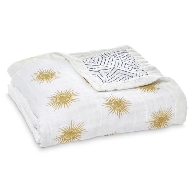 Aden + Anais: Silky Soft Bamboo Dream Blanket - Golden Sun